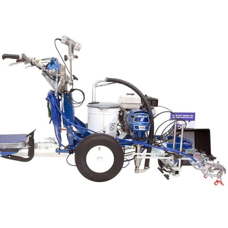 Machine solaire et électrique graco linelazer V5900 pour marquage