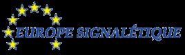 Logo de la société Europe Signalétique située à Perrignier