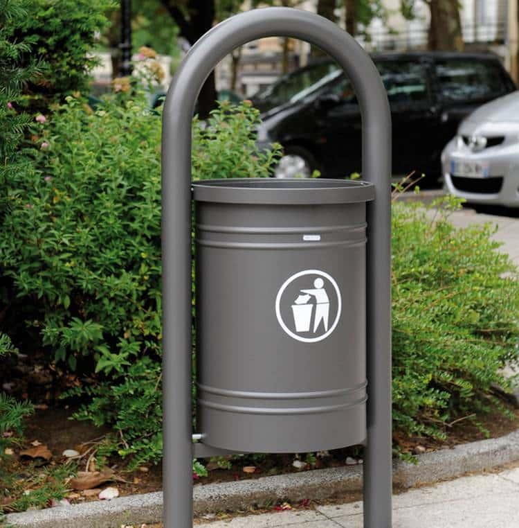 Vente et installation de poubelle en milieu urbain