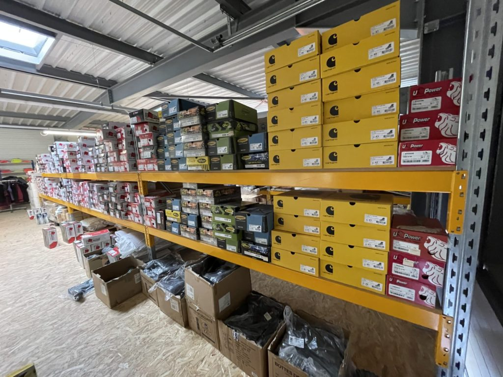 Nombreux choix de chaussures de sécurité pour tous les goûts dans le magasin d'Europe Signalétique